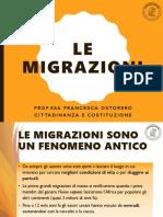 7. Le migrazioni