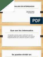 INTERESADOS FORMULACION