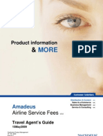 Amadeus Airline Service Fee -TA's Guide v3