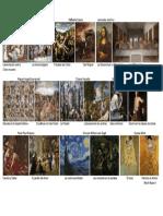Exponentes del arte