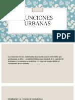 funciones urbanas