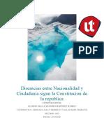 Direrncias entre Nacionalidad y Ciudadania sigun la Constitucion de la republica-convertido