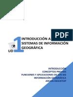 UD 1 - INTRODUCCIÓN A LOS SISTEMAS DE INFORMACIÓN GEOGRÁFICA