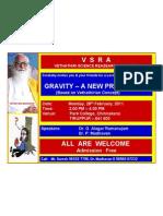 VSRA Invitation - 28th February 2011