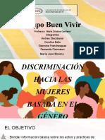 discriminación hacia las mujeres