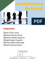 Procedimiento Arbitral - GRUPO CORTEZ (2).pptx