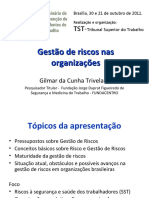 Gilmar Trivelatto Gestao de Riscos Nas Organizacoes
