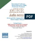 MBR Asia 2011 - Program Agenda