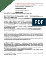 F7 - Ficha de Trabalho sobre Gestão dos instrumentos de medição