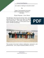 Concretecanoe.org - RHA replaces silica fumes - United States - July 2006