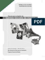 MANUAL PARA LA GESTION DE BANDAS-ESCUELAS DE MUSICA