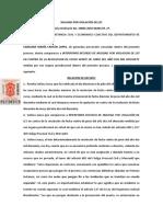22. NULIDAD POR VIOLACIÓN DE LEY