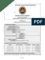 SILABO-EVALUACION DE PROYECTOS (2020-B)