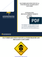 factores de metales y gases