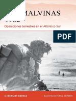 Fremont-Barnes G. Las Malvinas 1982. Operaciones terrestres en el Atlántico Sur.