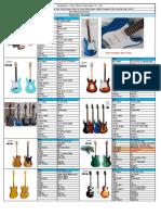 6 Stock Electric guitar & bass 20201010