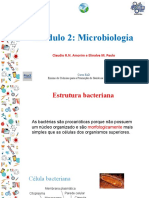 Caracteristicas gerais daas bactérias
