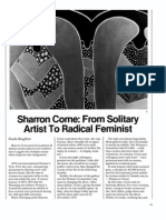 corne_from solitary artist to radical feminist 1975
