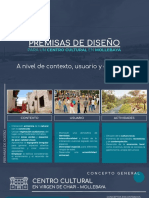 Premisas, Concepto y Programación_TALLER DE DISEÑO ARQUITECTONICO 6E