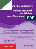 06 Política Nacional de Adultos en el Movimiento Scout