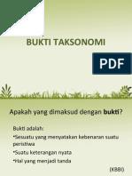 Bukti taksonomi tumbuhan