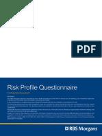 Morgan Risk Questionaire
