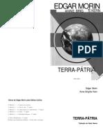 LIVRO - Terra Pátria - EDGAR MORIN