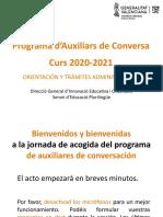 2020-21 Auxiliar Online Orientation Presentation 2