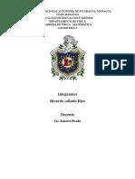 Trabajo de Geometria 2- Ricardo Collado