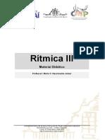 Material Ritmica III