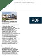 Lista de Ingresantes Universidad Nacional Del Altiplano
