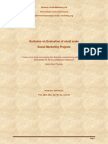 Guidance on Evaluation of small scale Social Marketing Projects