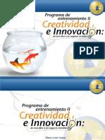 Charla creatividad e innovación