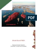 FMEA- Model based approach