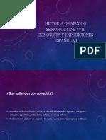 HISTORIA DE MEXICO sesion VIII.