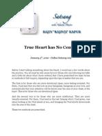 True Heart Has No Center, by Rajiv Kapur