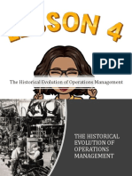 Lesson 4_The Historical Evolution of Operations Management