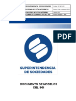 GC-MO-001 Documento de Modelos del SGI