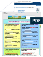 Ficha online de Past Simple Practice para Grade 6.pdf