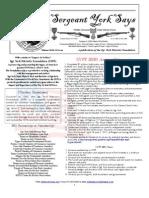 Sergeant York Says Newsletter (Winter 2010)