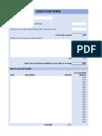 Cash-Flow-Form-in-Excel