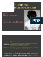 Twenty19 Smart student Resume Guide