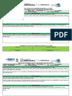 Informe de avance en el aprendizaje mensual  4-5 años - Mes Septiembre -   Zoraida Rodriguez