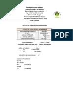 DATOS DE PROYECTO LINEA DE CONDUCCION