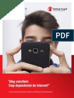 1. Stop dependentei de Internet  - Informaţii pentru facilitator