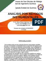 Análisis por métodos instrumentales