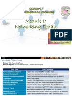 Introduction to Networks - CCNAv7 Module-1