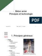 béton armé principes et technologie