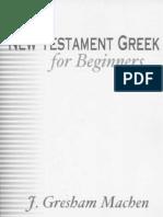 (Christian pdf) NT - Greek For Beginners
