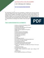An International Journal of Peer-to-Peer Networks(IJP2P)